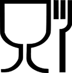 Glas og Gaffel symbol